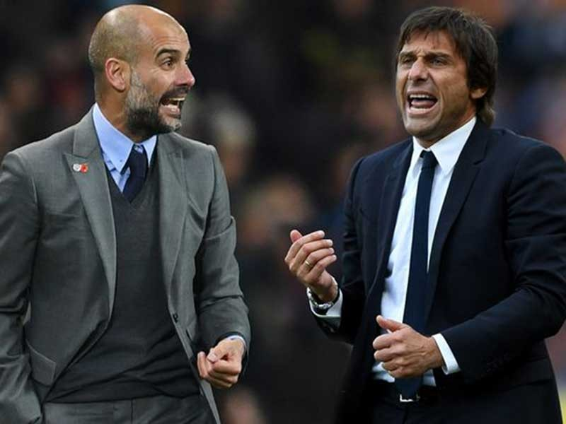 Man. City - Chelsea: Guardiola đấu Conte - ảnh 1