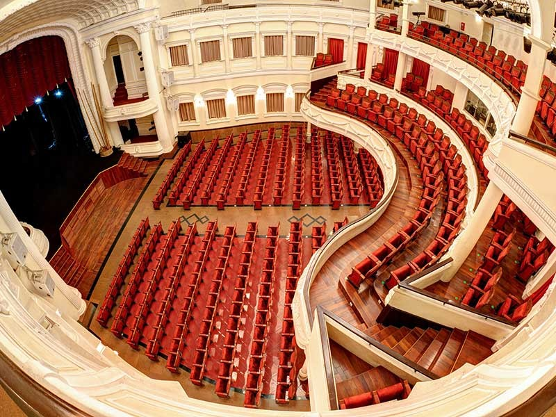 Nhà hát đầu tiên ở Sài Gòn - ảnh 1