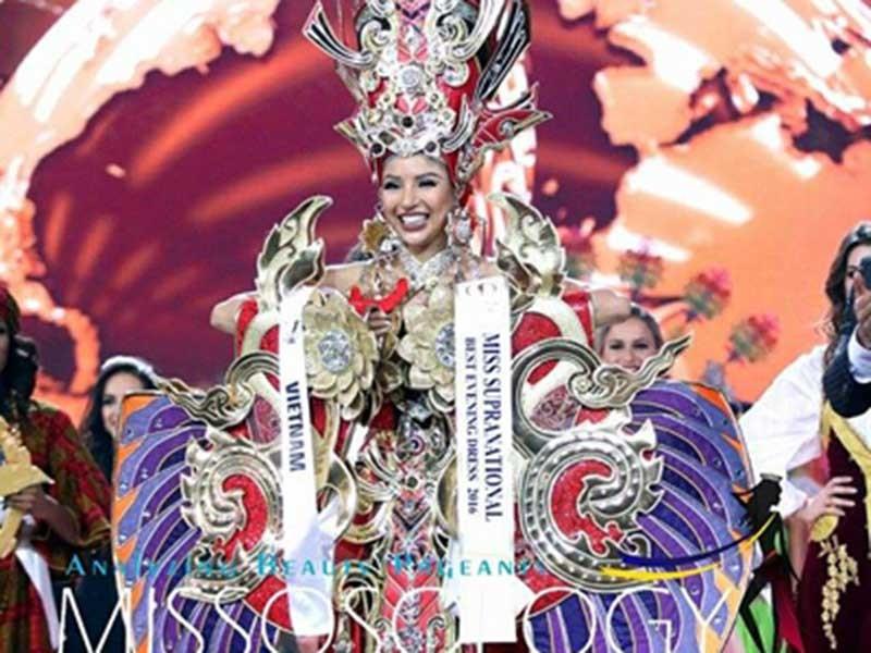 Khả Trang giành giải 'Trang phục dân tộc đẹp nhất' - ảnh 1