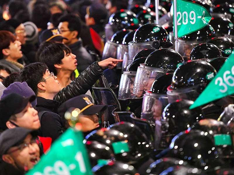 Đảng cầm quyền ở Hàn Quốc muốn thương lượng - ảnh 1