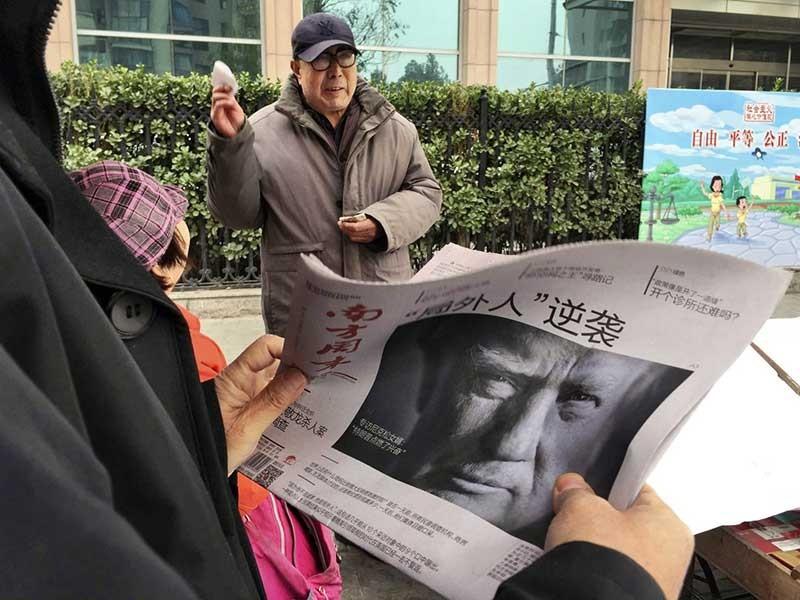 Ông Trump 'đấu' Trung Quốc - ảnh 1