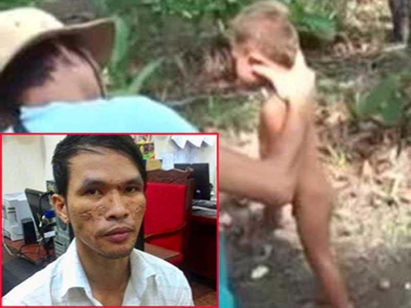 Đã bắt nghi can hành hạ bé trai Campuchia - ảnh 1
