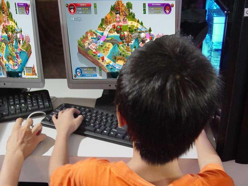 'Chinh phục vũ môn': Thi kiến thức hóa ra game online - ảnh 1