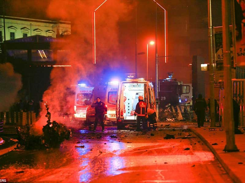 Quốc tang sau vụ đánh bom kinh hoàng ở Istanbul - ảnh 1