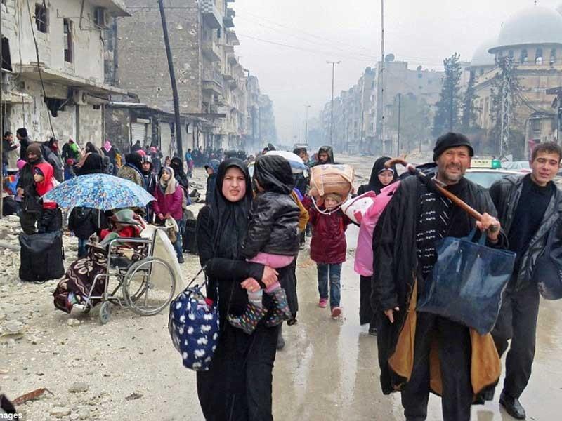 Súng lại nổ sau thỏa thuận ngừng bắn, rút lui ở Aleppo - ảnh 1