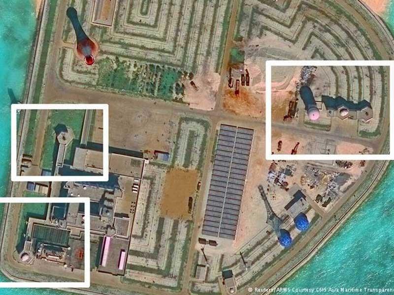 Trung Quốc bố trí công sự phòng không  - ảnh 1