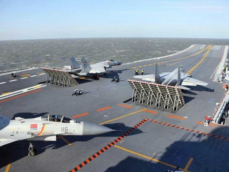 Tàu sân bay Trung Quốc lộ diện - ảnh 1