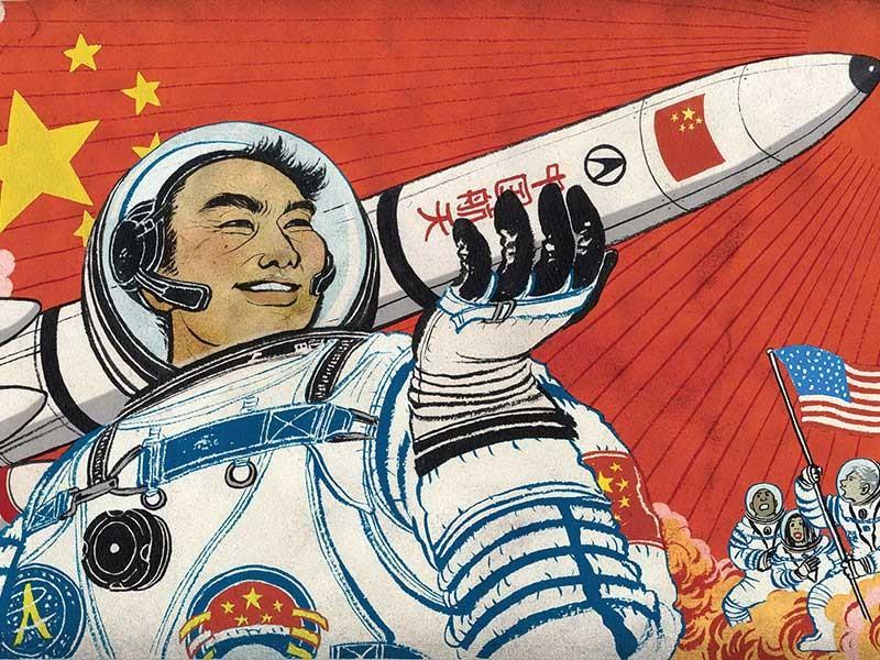 Trung Quốc nuôi mộng bá vương công nghệ vũ trụ  - ảnh 1