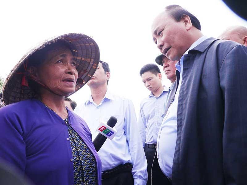 Cấp 80 tỉ và 2.000 tấn gạo hỗ trợ người dân Bình Định - ảnh 1