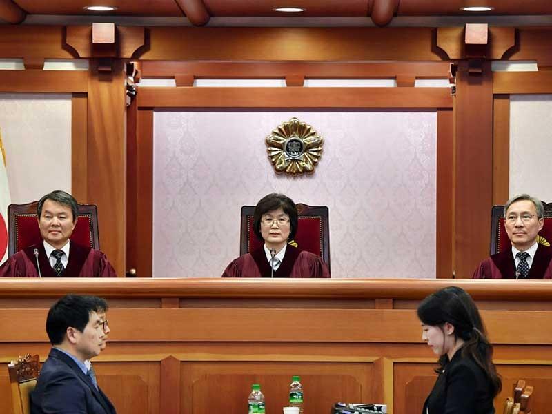 Xác định năm điểm buộc tội tổng thống Hàn Quốc - ảnh 1