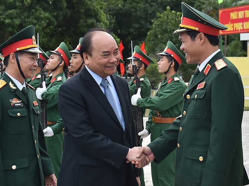 Thủ tướng thăm lữđoàn bảo vệ tuyến đảo Đông Bắc Tổ quốc - ảnh 1