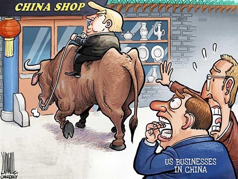 Chiến tranh thương mại Mỹ-Trung bùng nổ? - ảnh 1