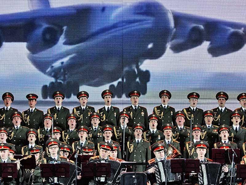 Đoàn quân nhạc Alexandrov: 'Vũ khí biết hát của Nga' - ảnh 1