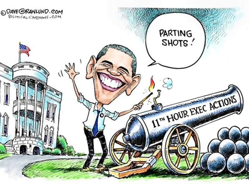 Obama có quyền gì vào cuối nhiệm kỳ? - ảnh 1