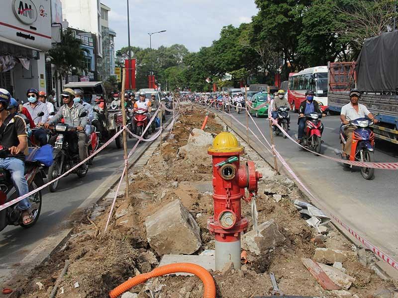 Nhiều dự án gỡ nghẽn cửa ngõ Tân Sơn Nhất - ảnh 2