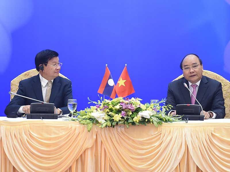 Thủ tướng Việt - Lào họp Ủy ban liên Chính phủ - ảnh 1
