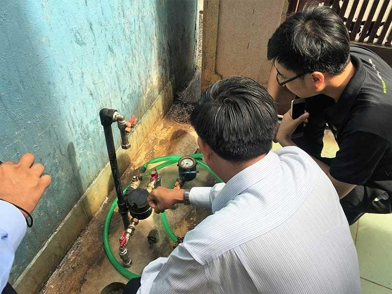 Việt kiều muốn lắp đồng hồ nước thông minh - ảnh 1
