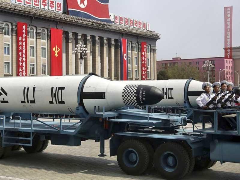 Triều Tiên giới thiệu tên lửa đạn đạo liên lục địa mới - ảnh 1