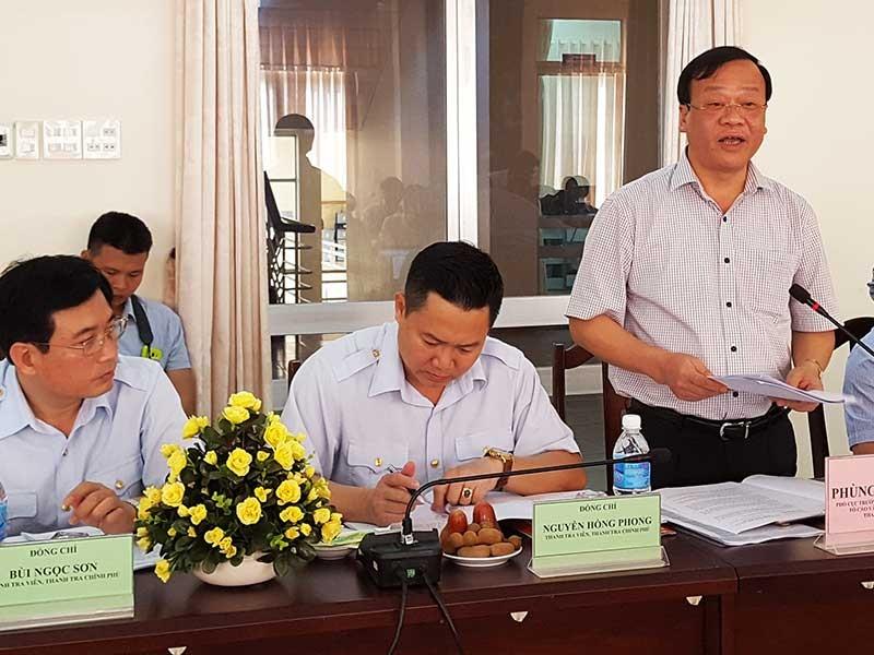 Thanh tra Chính phủ vào cuộc vụ phá rừng ở Phú Yên  - ảnh 1
