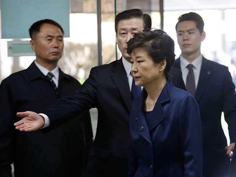 Gay cấn phiên xử bà Park Geun-hye - ảnh 1