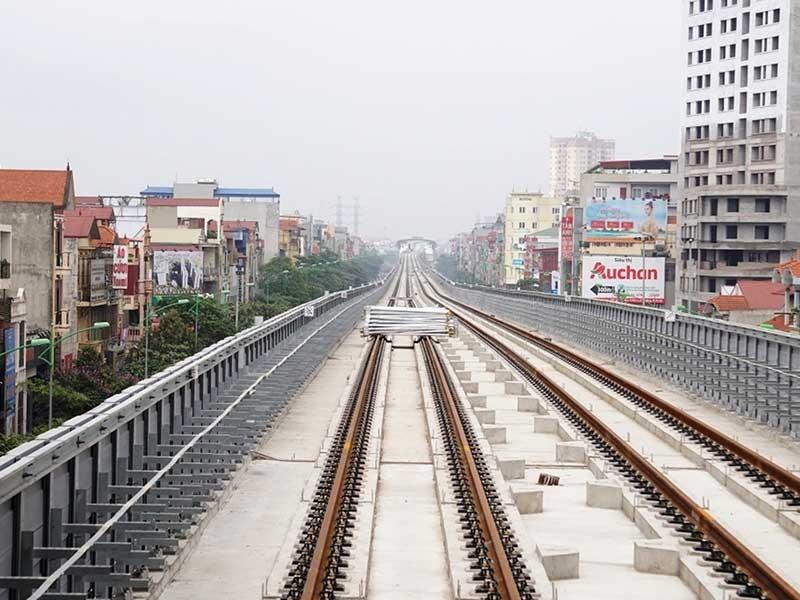 Đường ray Cát Linh - Hà Đông chưa khai thác đã gỉ sét - ảnh 1
