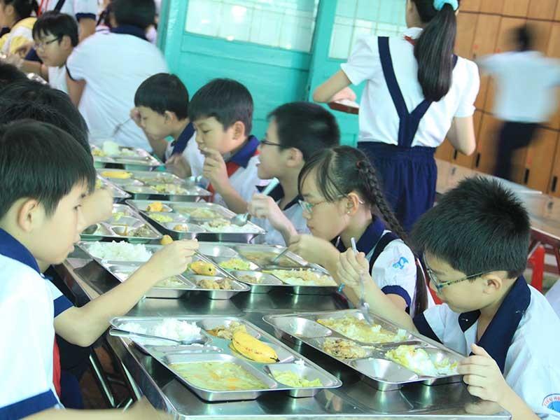 Cải thiện dinh dưỡng qua dự án 'Bữa ăn học đường' - ảnh 1