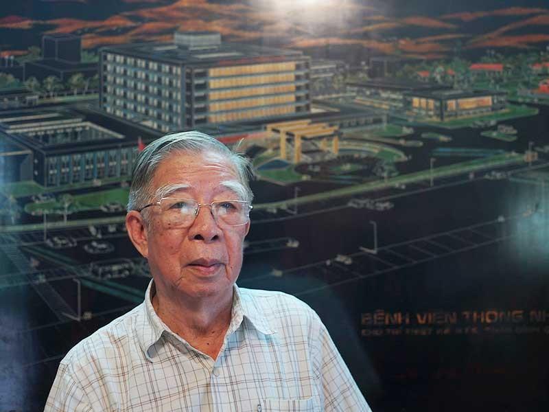 Ông kiến trúc sư chuyên thiết kế bệnh viện - ảnh 1