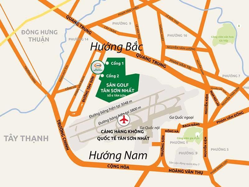'Nên mở rộng Tân Sơn Nhất về hướng Nam' - ảnh 1