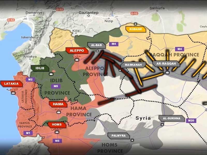 Chiến sự Raqqa - ảnh 1