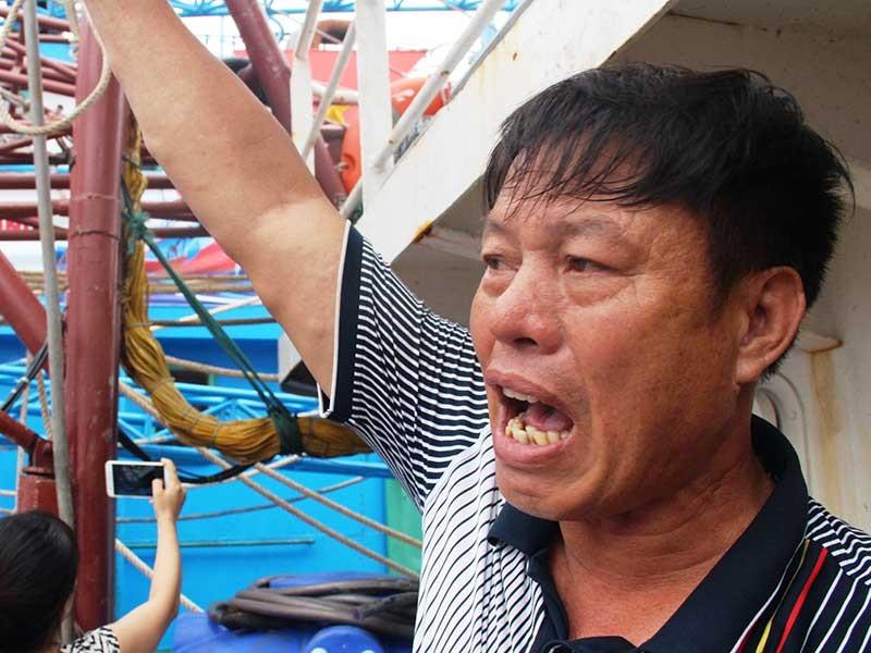Thanh Hóa: Nhiều tàu vỏ thép đang nằm bờ - ảnh 2