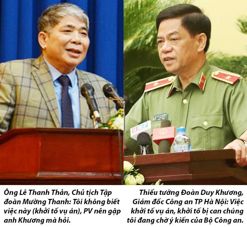 Chờ Bộ Công an mới khởi tố Mường Thanh - ảnh 1