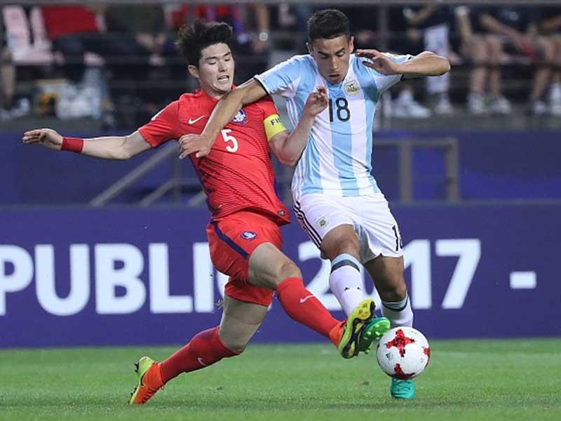 Ngôi sao U-20 Hàn Quốc sang ViN dự giải U-23 châu Á - ảnh 1