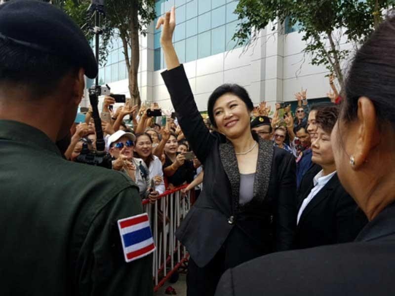 Giờ chót của bà Yingluck trước phán quyết 'sinh tử' - ảnh 1