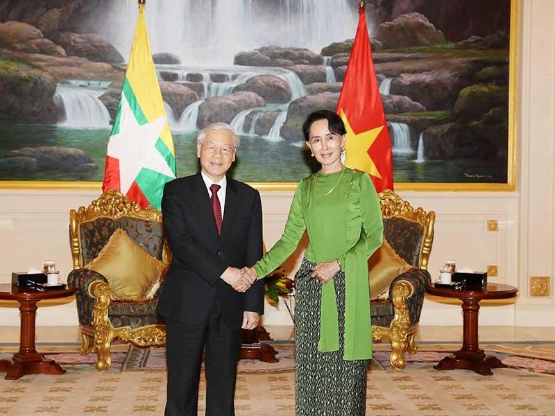 VN-Myanmar nâng tầm quan hệ đối tác hợp tác toàn diện - ảnh 1