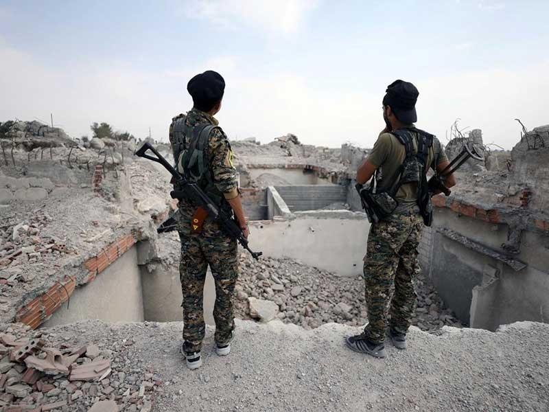 90% thành trì IS đã vào tay phe Mỹ hậu thuẫn - ảnh 1