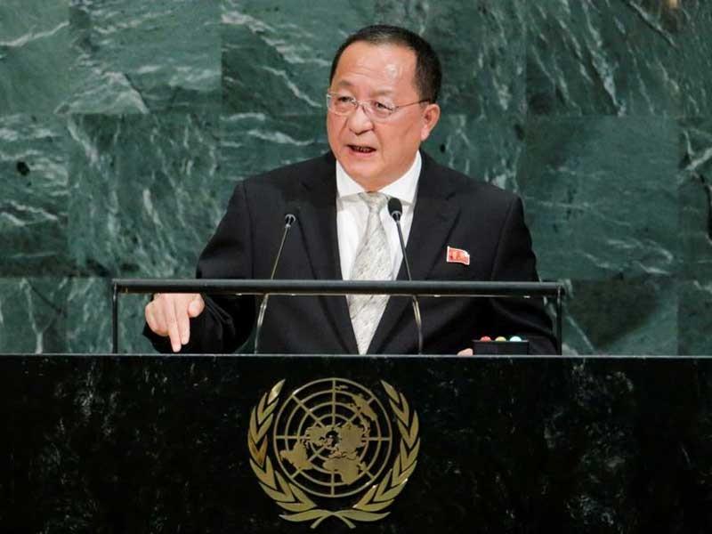 Mỹ, Triều Tiên thi nhau 'đọ gan' đầy rủi ro - ảnh 1