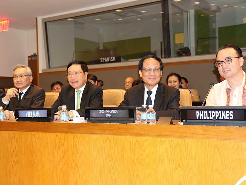 Phó Thủ tướng dự Hội nghị bộ trưởng Ngoại giao ASEAN - ảnh 1