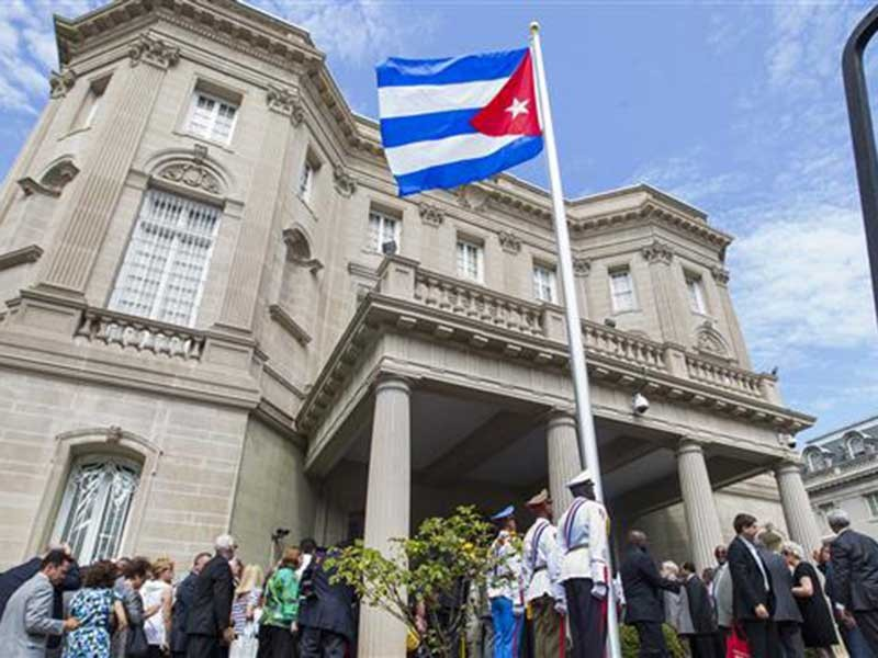 Cuba phải cắt giảm nhân viên ngoại giao ở Washington - ảnh 1