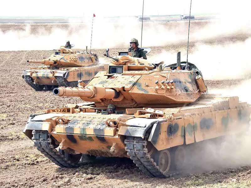 Xe tăng Iran, Thổ Nhĩ Kỳ áp sát biên giới Iraq - ảnh 1