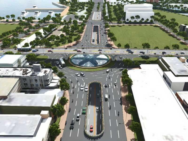 Chi 520 tỉ đồng làm nút giao thông ba tầng - ảnh 2