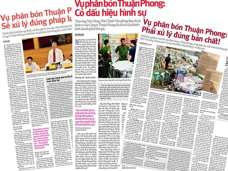 Phải khởi tố, xử nghiêm vụ Thuận Phong - ảnh 1