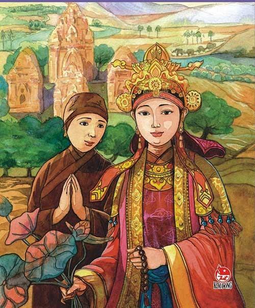 Huyền Trân công chúa làm vợ Chế Mân - ảnh 1