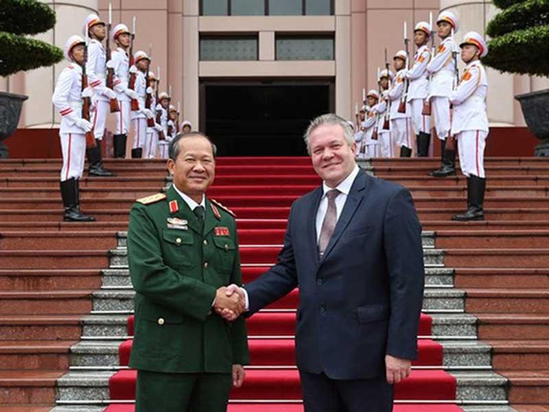 Việt Nam-Nga họp bàn hợp tác kỹ thuật quân sự năm 2018 - ảnh 1