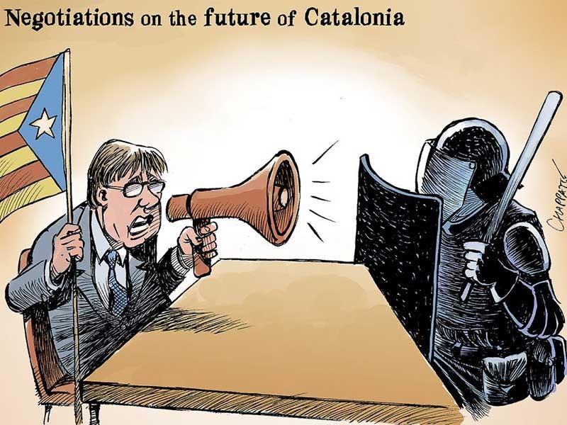 Catalonia lùi hay chiến? - ảnh 1