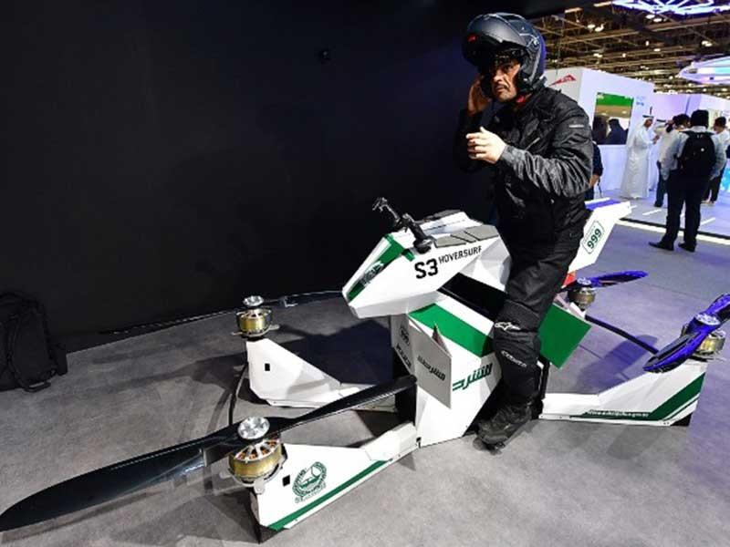 Cảnh sát Dubai sắp tuần tra bằng… xe bay - ảnh 1
