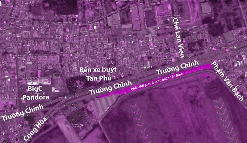 Bộ Quốc phòng giao đất cho TP.HCM - ảnh 1