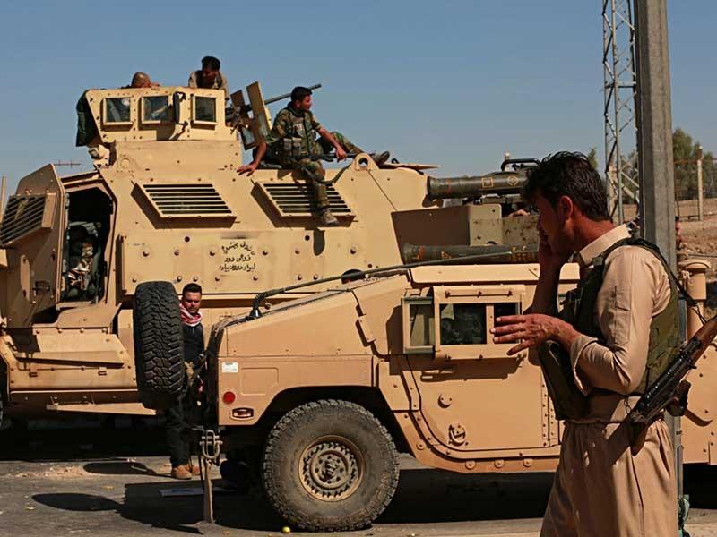 Giao tranh bùng nổ giữa người Kurd và quân Iraq - ảnh 1