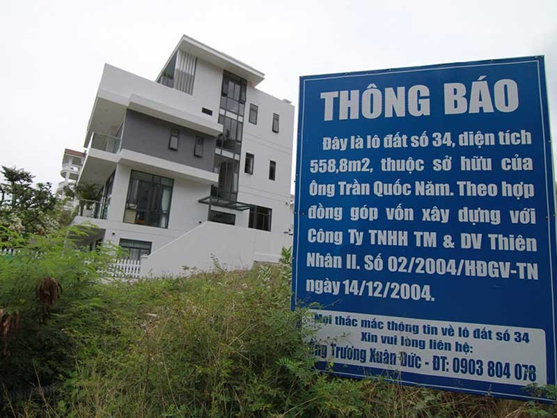 'Mếu' vì lỡ mua đất đã thế chấp ngân hàng - ảnh 1