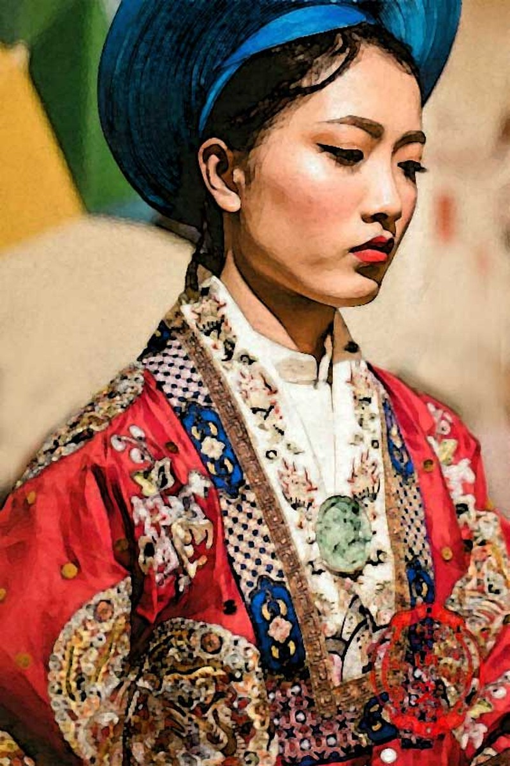 Công nữ 'hút hồn' vua Chiêm Po Ro me - ảnh 1