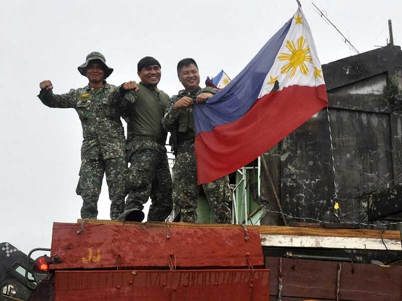 Philippines tuyên bố xóa sổ IS ở Marawi - ảnh 1